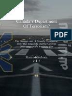 Canada's Department of Terrorism?