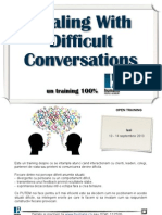 Dealing With Difficult Conversations@Humans