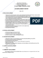 Accomplishment Report July 13