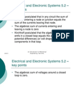 Unit 5 Electrical and Electronic Systems
