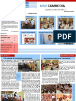 UN Volunteers in Cambodia Newsletter, August 2013