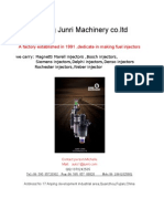 Fuel Injector Catalogue