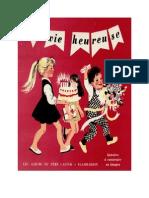 Jeux Extra Histoires à Construire en Images La Vie heureuse Père Castor 1955