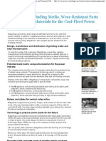Magotteaux - Materials for the Coal-Fired Power Industry