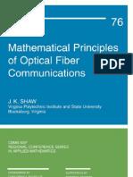 [6]Mathematical Principles of Optical Fiber Communications