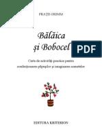 Carte Balaica Si Bobocel