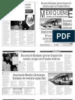 Versión impresa del periódico El mexiquense  22 agosto 2013