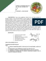 Proiect Interdisciplinar - clasa pregatitoare