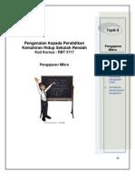 topik9  Pengajaran Mikro