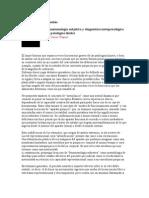 Diagnóstico en psicoanálisis - Fenomenología subjetiva y diagnóstico metapsicológico en patologías límites
