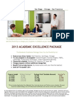 미국 Intrax Academic Excellence Package2013FV