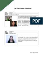 미국 IntraxSD-Student-Testimonials