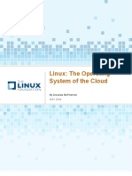 Linux the Operating System of the Cloud
