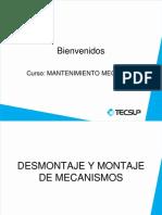 3 Desmontaje y Montaje de Mecanismos