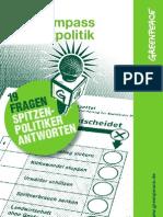 Wahlkompass Umweltpolitik 2013