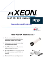 Reverse Osmosis Membrane Elements