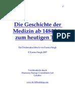 51119116 Die Geschichte Der Medizin 2 Ab 1484 Bis Zum Heutigen Tag