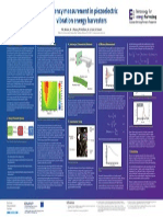 Efficiency measurement in piezoelectric vibration energy harvesters