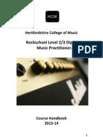 HCM Course Handbook