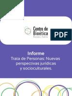 Informe Trata de Personas