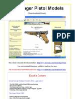 The Luger Pistol Models