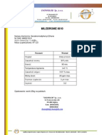 Milebrome 8010 - Chemical Products Specification Sheet - Chemiglob.com