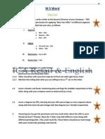 Computer  Practical Test | Typefaces | Human–Computer