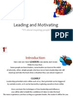 Leading& Motivating -Mini Book