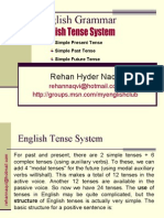 Tenses In English Grammar Chart With Examples Pdf