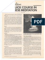 A Quick Course in Chinese Meditation (KKFI 1986)