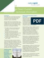 FactSheet-HVDC