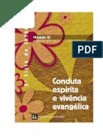 Apostila FEB - DIJ-3º Ciclo de Infância - Módulo III - Conduta espírita e vivência evangélica