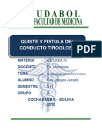 Quistes y Fistulas Del Conducto Tirogloso Expocicionnn