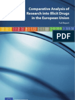 Comparative Analysis of Research Into Illicit Drugs in the EU