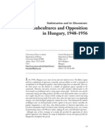 Subcultures and Opposition 1948 56