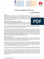 Improving Service Availability of Ip Networks PDF