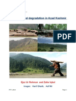 Environmental Degradation in Azad Kashmir(Letter from Press for Peace)  by Ejaz Ur-Rehman and Zafar Iqbal