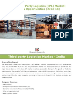 Indian Third Party Logistics (3PL) Market