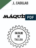 A.L.Casillas - Máquinas (Cálculos De Taller)