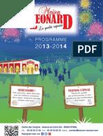 Catalogue 2013 / 2014 Maison Léonard