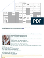 esquema vacinal infantil 2012