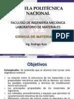 CienciaMaterialesI - I Parte - Introducción