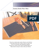 Denim Place Mats