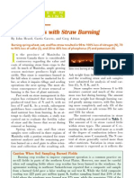 2006. Up in Smoke - Nutrient Loss With Straw Burning