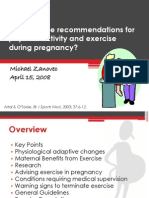 Exercise and Pregnancy_Zanovec