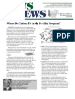 2006. Where Do Cations Fit in My Fertility Program