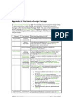 The Service Design Package