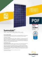 SunFields SolarWorld Poly SW230-250 En