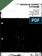 Caja de Cambios R1400 R 1700 SR 1400 SR 1700