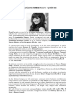 Biografía de Demi Lovato-paquiao
